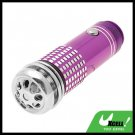 Mini  Fresh Air Purifier / Oxygen Bar for Auto Car - Purple
