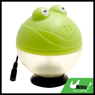 Green Frog Car Ion Air Fresh Purifier Cleaner Refresher