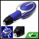 Mini Car Auto Ionic Fresh Air Purifier Filter Cleaner Blue