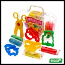 10 Colors Play Dough Set Pack Kids Fun Arts Crafts