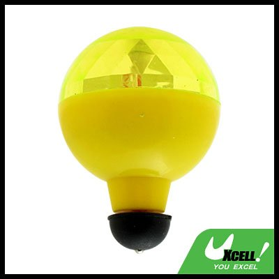Toy - Super colourful Flashing Rolling Ball  - Yellow