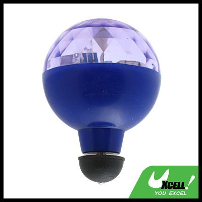 Toy - Super colourful Flashing Rolling Ball  - Blue