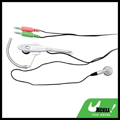3.5mm Earphone Headphone with Microphone for PC MIC SKYPE MP3
