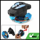 Gear Strip Control Swirl Fighter Children's Peg-Top Toy Blue Black