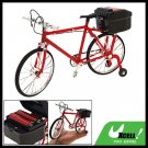 Electric Music Walking Miniature Bicycle Bike Toy Red