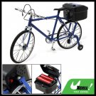 Blue Electric Music Walking Miniature Bicycle Bike Toy