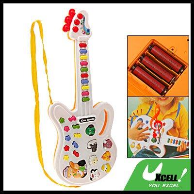 Cartoon Electric Music Guitar Kids Children Musical Toy
