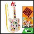 Cartoon Electric Music Guitar Kids Children Musical Toy