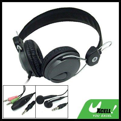 Multi-Purpose PC Computer Stereo Headphone with Microphone In-Ear Earphone