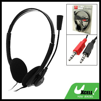 Stereo Headset Headphone with Microphone for PC Computer