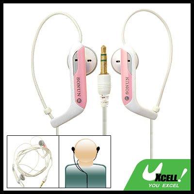 3.5mm Earphones Headphones w/ Hanger Loop for Mp3 PC
