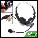 Multimedia PC Headphone Microphone Volume Control