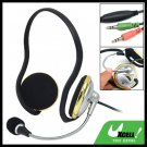 3.5mm Stereo Microphone Earphone Headphone for Computer PC