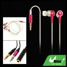 3.5mm In-Ear MP3 MP4 PC Stereo Earphone Earbud Headphone