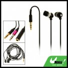 In-Ear MP3 MP4 Laptop PC Stereo Earphone w/ 3.5mm Plug