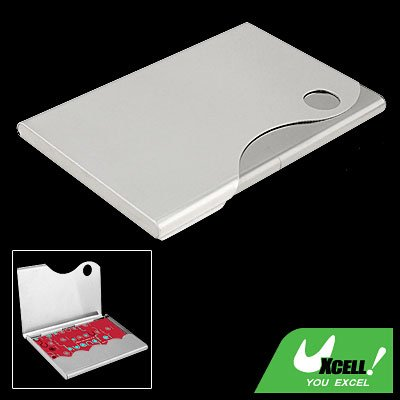 Classic Metal Business Credit ID Card Case Holder