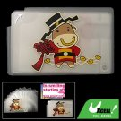 Cartoon Cow Business Credit Card Case Holder for 10 Pcs