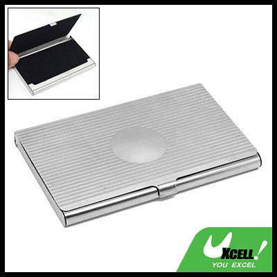 Metal Stainless Steel Business Card ID Holder Case