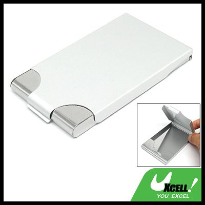 Stainless Steel Business Card Holder Case Silvery