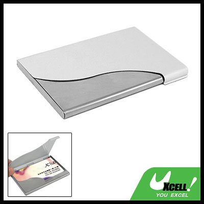 Thin Aluminum Business Credit ID Card Case Holder 2-tone