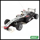 Toy Car- Radio Remote Control RC Racing Car (NO.538) - black & Silver