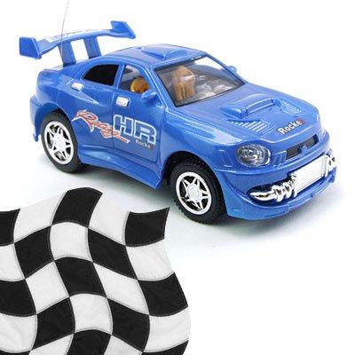 Toy - Radio Remote Control 1:52 Super Fast Racing Car - Blue