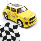 Toy - Radio Remote Control 1:52 Super Fast Racing Car - Yellow