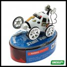 Toy - Super Remote Control Stunt Vehicle Car - White