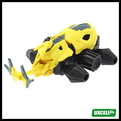 Toy Car - Super Hand Wind Whale Car w/ Motion - Yellow