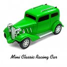 Toy Car - Mini Remote Control RC Speed Vintage Classical Racing Car Jeep (0607) - Apple Green***/