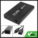 "Black USB 2.0 3.5"" SATA HDD External Hard Drive Case Box"