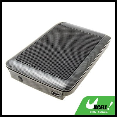 "Cool Black 2.5"" USB SATA HDD Mobile Hard Disk Enclosure Case"