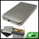 "USB 2.0 SATA 2.5"" HDD Mobile Case Grey Hard Drive Enclosure"