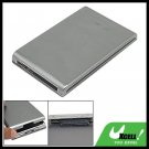 "2.5"" USB SATA HDD Hard Drive Disk Enclosure Case Silvery"