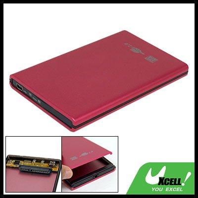 USB 2.0 SATA 2.5 Inch Hard Drive Enclosure Aluminium HDD Case