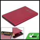 USB 2.0 SATA 2.5 Inch Hard Drive Enclosure Aluminium HDD Case