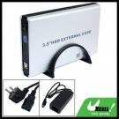 3.5 Inch USB SATA HDD External Case Enclosure