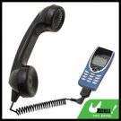Traditional Black Talky Telephone Handset Microphone for Ericsson T29 Nokia 8250 3210