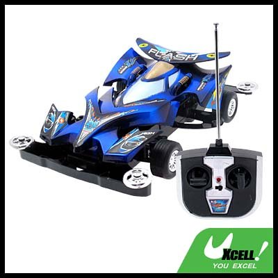Toy Car - Radio Remote Control RC Racing Car- Black & Blue
