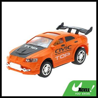 Toy -  Radio Remote Control RC 1:52 Super Fast Racing Car -Orange