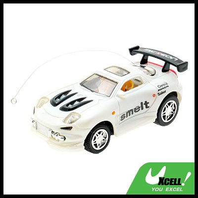 Toy - Radio Remote Control 1:52 Super Fast Racing Car - White