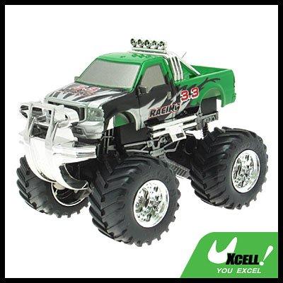 Toy - Power Radio Remote Control RC 4x4 Racing Car - Green