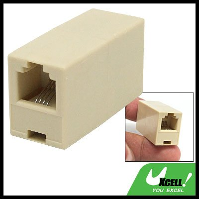 RJ11 Telephone Cable Inline Connector Adaptor Coupler