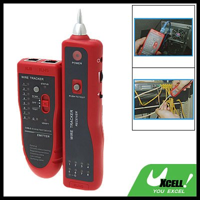 Telephone Phone Tone Cable Wire Tracker Tester RJ-45 RJ-11