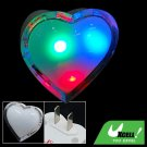 Heart Shaped Colorful LED Night Light Bedroom Lamp