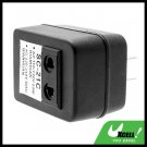 AC Electricity Voltage-up Transformer Converter Adapter 50W - Black