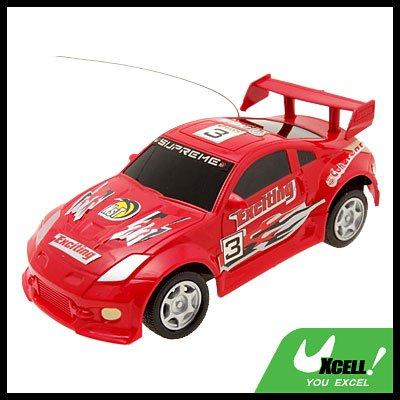 Toy - NO.3 Radio RC Remote Control 1:32 Super Fast Racing Car-Red