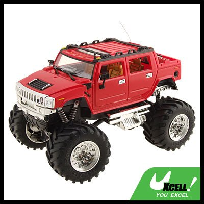 Toy - Red High Speed 2 LED Remote Radio Control RC Racing Car Kids Toy