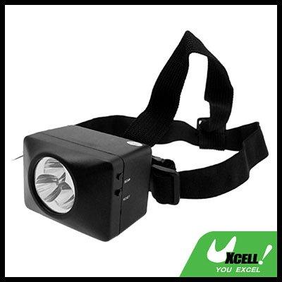 Multifunction 3 LED Charger Head Lamp Light + FM Radio + Speakers