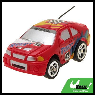 Toy Car Racing Mini Remote Control RC  Speed Racer Auto Red